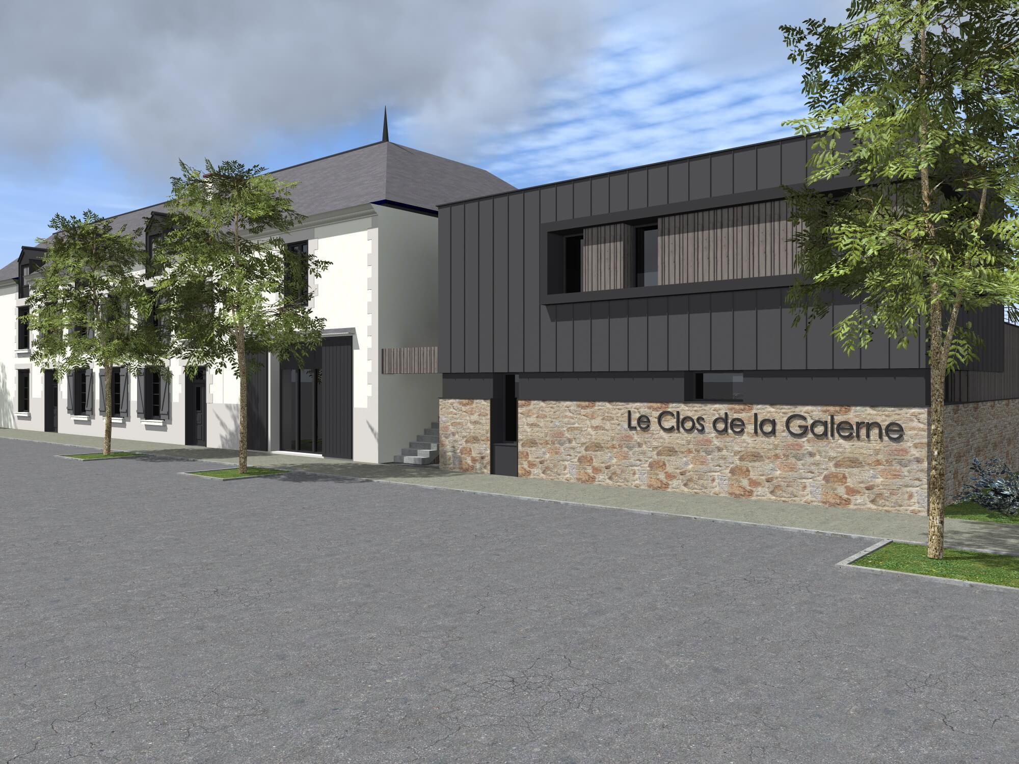 CONSTRUCTION DE 8 LOGEMENTS